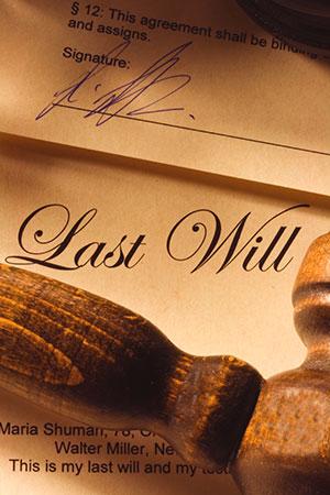 Last Will document